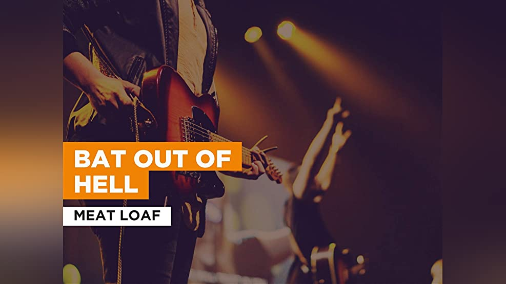 Bat Out Of Hell in the Style of Meat Loaf