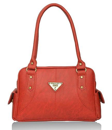 Fantosy Women s Handbag (Red) (FNB-375)  Amazon.in  Shoes   Handbags 1f61311c41
