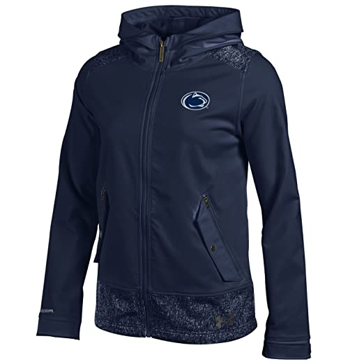 61b233741 Under Armour NCAA Penn State Nittany Lions Women's Softshell Jacket, Small,  ...
