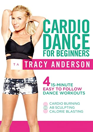 2e74fe74d5 Tracy Anderson  Cardio Dance For Beginners  DVD   Amazon.co.uk ...