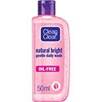 CLEAN & CLEAR, Daily Wash, Natural Bright, 50ml