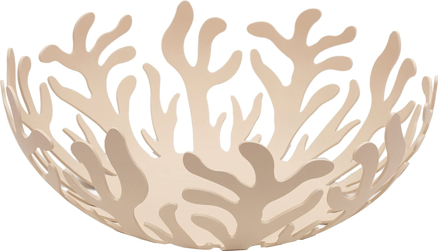 Alessi 25 cm Mediterraneo Fruit Holder in Steel Coloured with Epoxy ResinRed ESI01/25 R