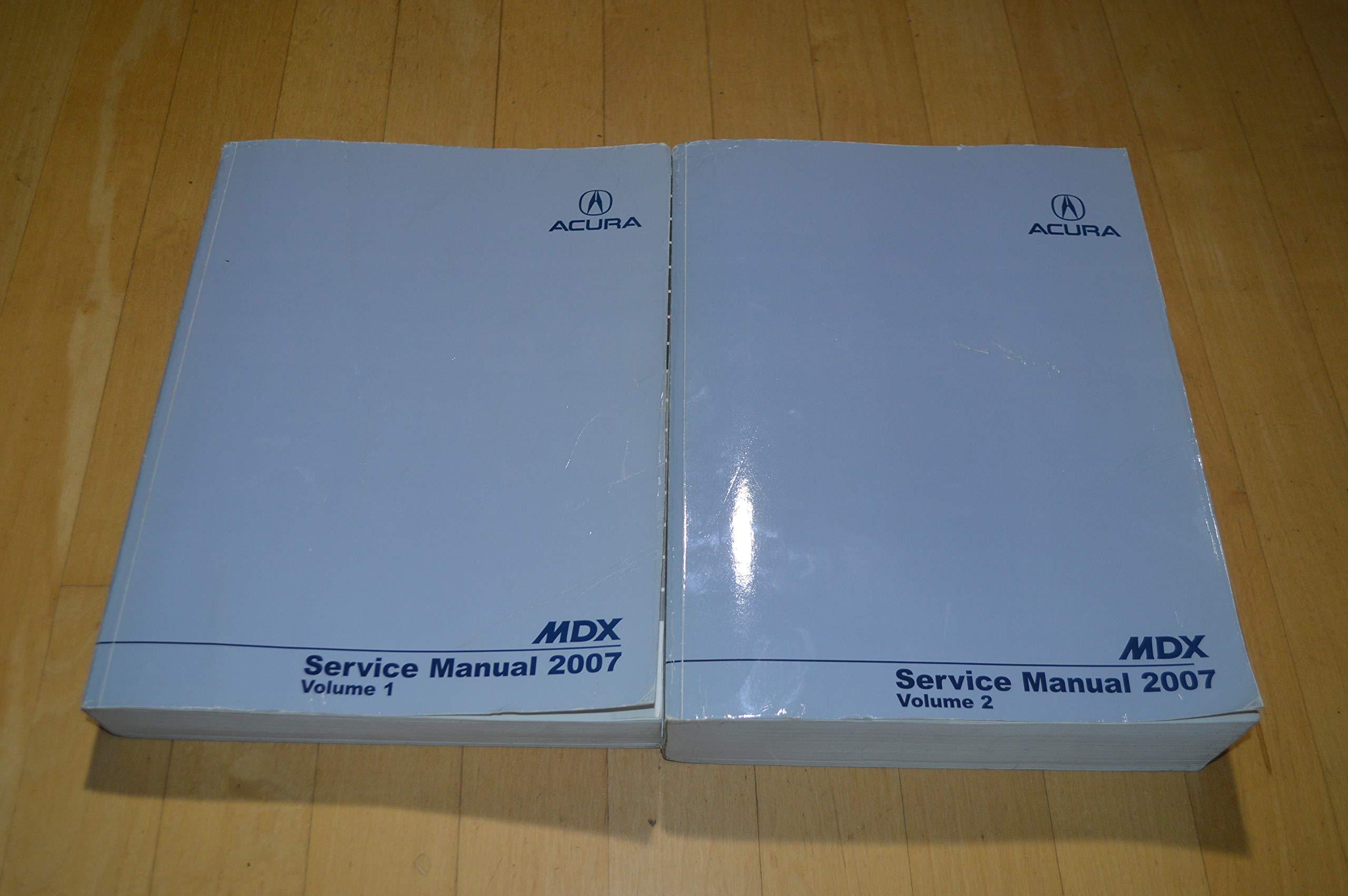 Acura mdx 2007-2009 service repair manual.