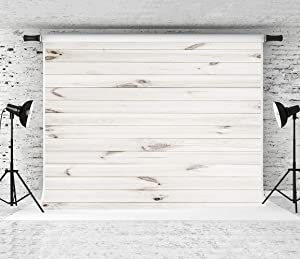 Kate 10x10ft White Wood Backdrop Horizontal Wood Texture Backgrounds Party Decoration Backdrops Studio Photo Props Backgrounds