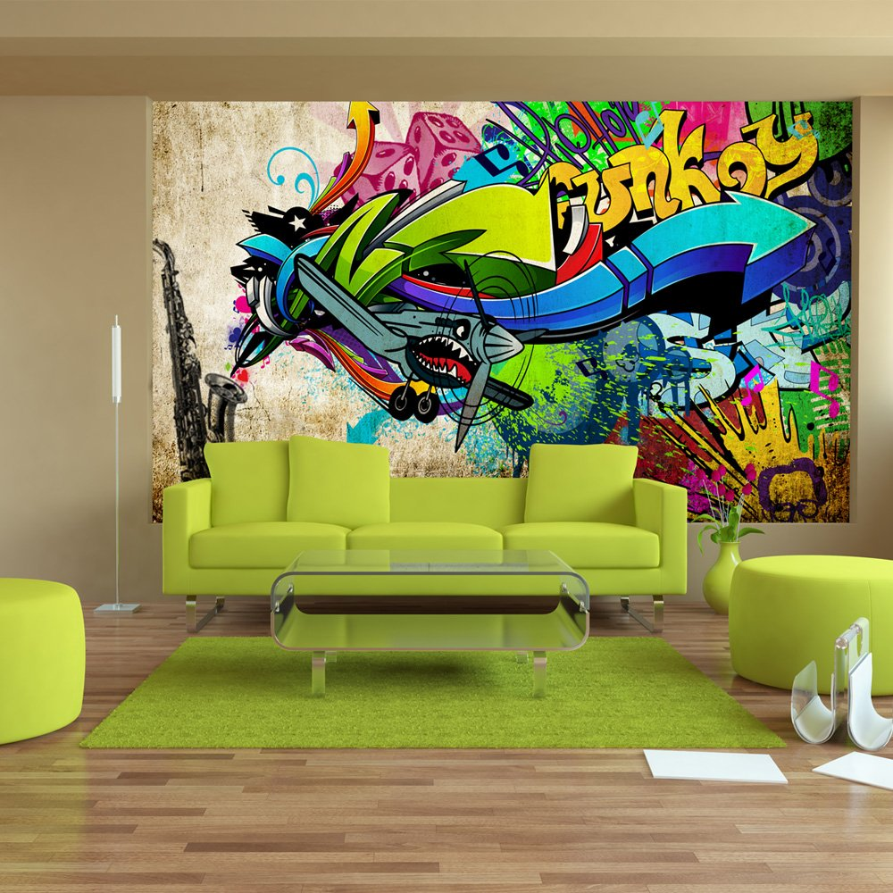 Murando Papier Peint Intiss 350×256 Cm Trompe L Oeil