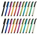 22-Pack Formvan Stylus Pen Set