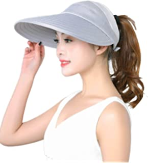 40926536e47 HINDAWI Sun Hat Wide Brim Sun Hats for Women Packable Floppy UV Protection  Visor Beach Womens