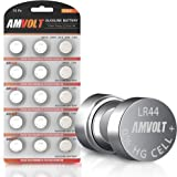 15 Pack LR44 AG13 A76 Battery - [Ultra Power] Premium Alkaline 1.5 Volt Non Rechargeable Round Button Cell Batteries for Watc