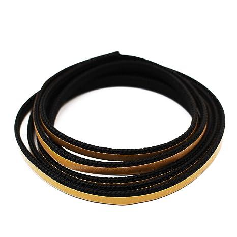 Chimenea Junta plana de cordón cinta aislante autoadhesiva. Apto para austrof Cordero, caminos,