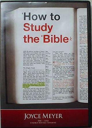Amazon com: How to Study the Bible By Joyce Meyer: Joyce Meyer