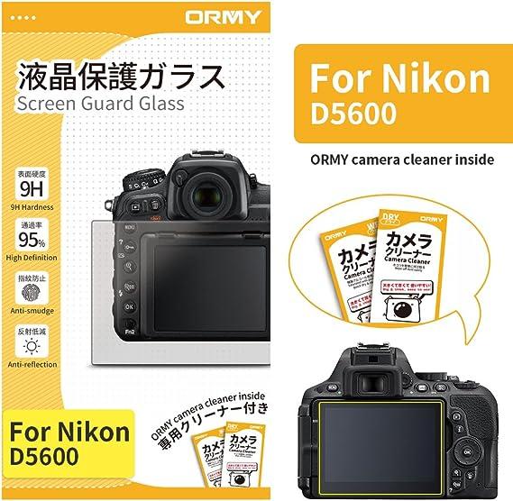 ORMY 0.3mm Protector de pantalla de cámara para Nikon D5600 ...