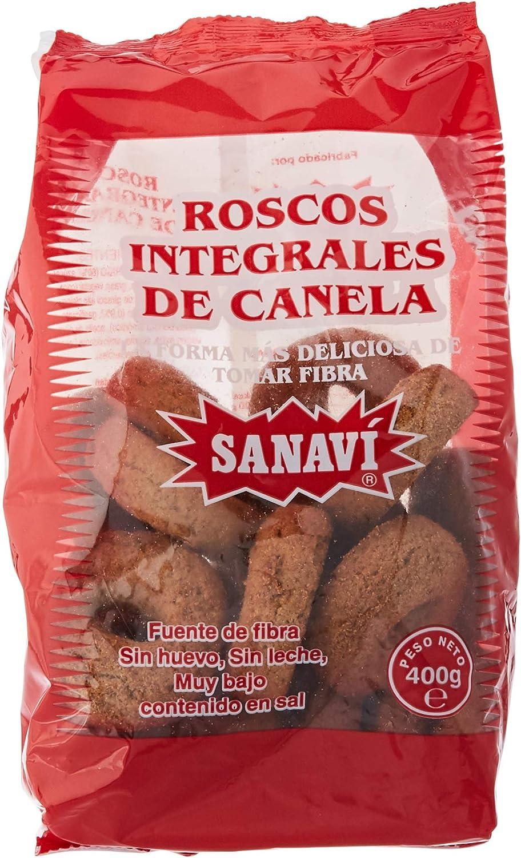 ROSCOS INTEGRALES CANELA 400gr: Amazon.es: Salud y cuidado personal