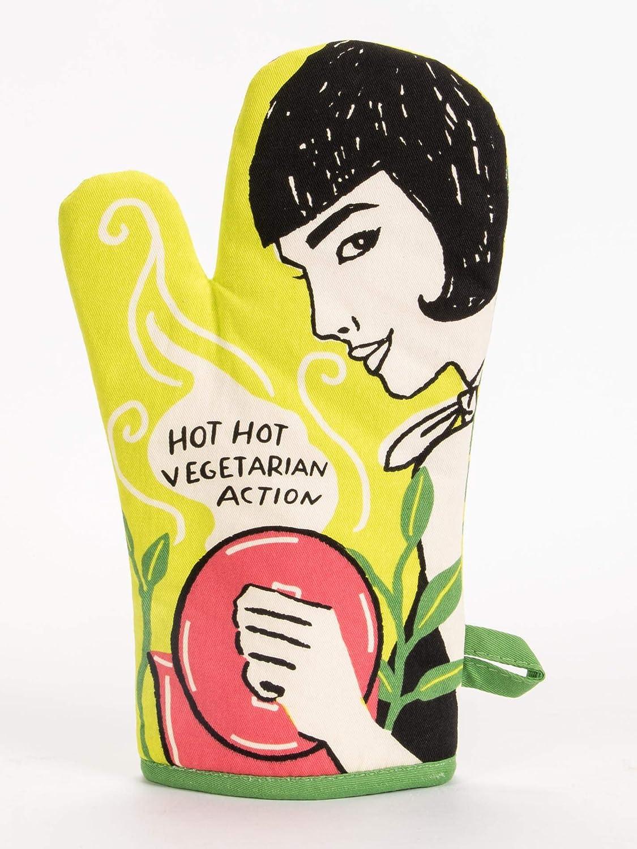 Blue Q Hot, Hot Vegetarian Action Oven Mitt