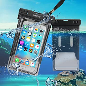 b6a916c31cde2 Waterproof Phone Case/Zilong Waterproof Bag: Amazon.co.uk: Electronics