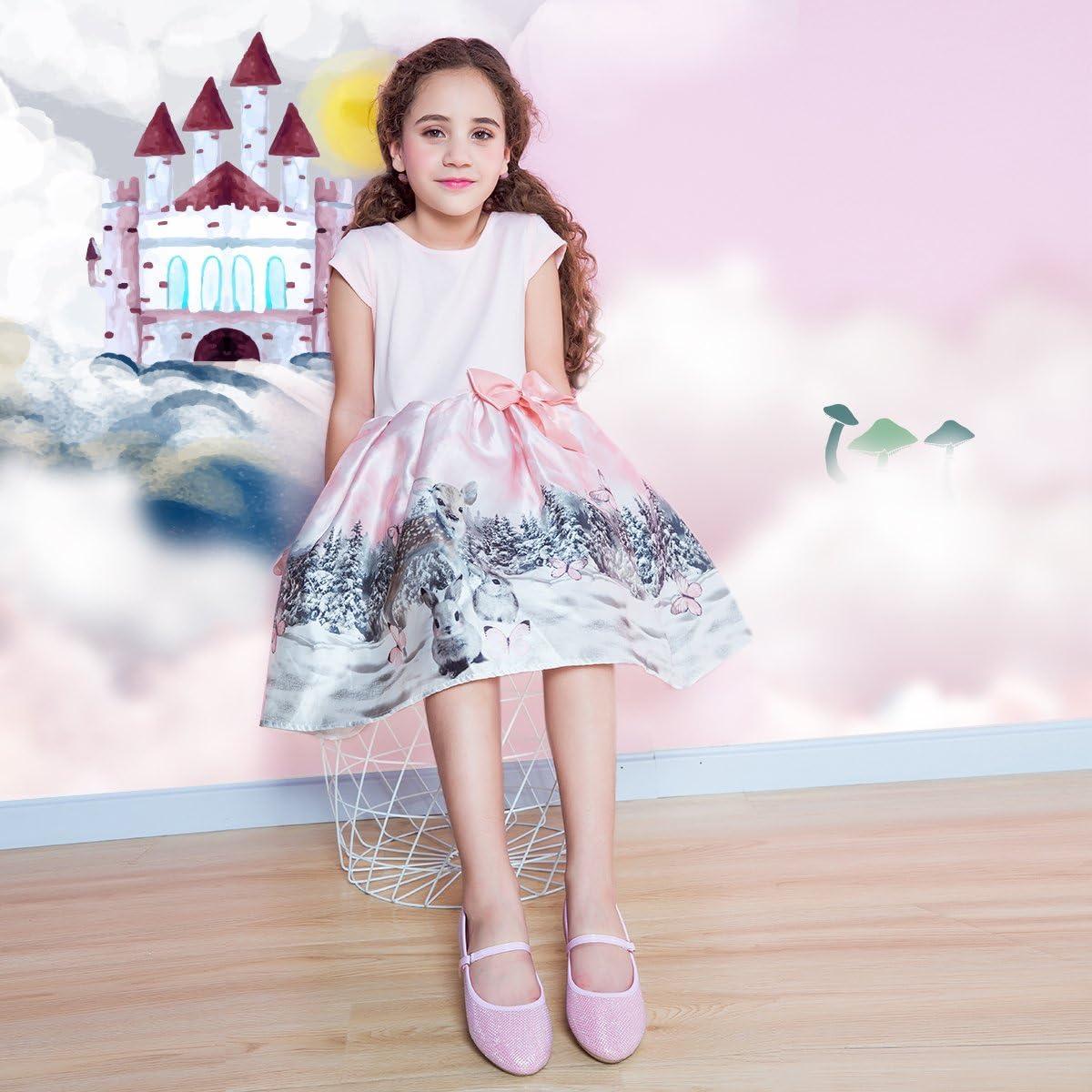 Toddler//Little Kid//Big Kid Hawkwell Girls Ballerina Flat Mary Jane Slip-on Dress Shoes