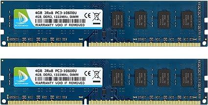 For Hynix 4GB 8GB 16GB 2RX8 PC3-10600U DDR3-1333MHz 240PIN DIMM Desktop Memory
