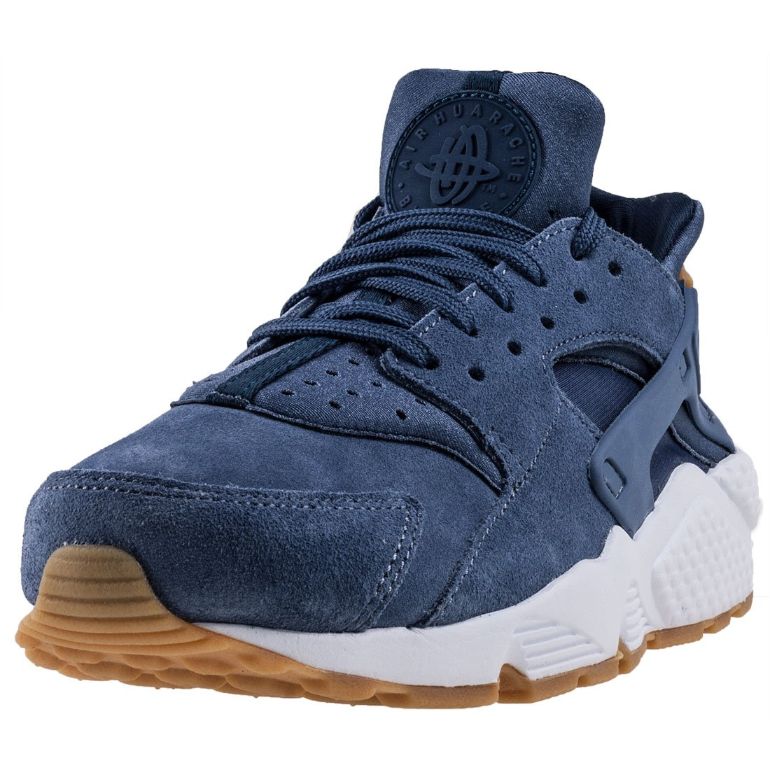 new products 83909 b8489 Nike Air Huarache Run Suede Womens Shoes Diffused Blue aa0524-400 (9.5 B(M)  US)
