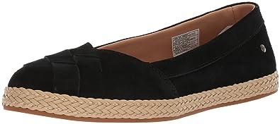 79a39263251 UGG Women s Clarissa Loafer Flat Black 5 M US
