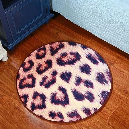 Couleur : #1, taille : 60 cm creative light Tapis rond dessin anim/é pour enfants nordique vestiaire salon chambre panier pivotant chaise coussin machine /à laver ordinateur chaise tapis