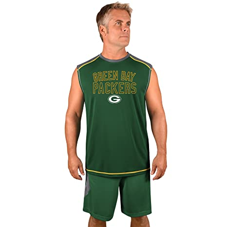 quality design 31130 02199 Profile Big & Tall NFL Green Bay Packers Adult Men NFL Plus S/Synthetic  Muscle,3X,Storm Grey/Dk Green