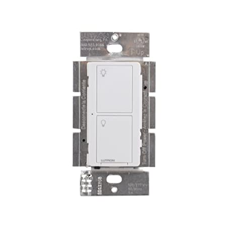 Lutron Deep Back Cover Maestro Switch with Occupancy Vacancy Sensor White MS-OPS6M2N-DV-WH