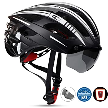 Amazon.com: Shinmax Casco de bicicleta, casco de seguridad ...