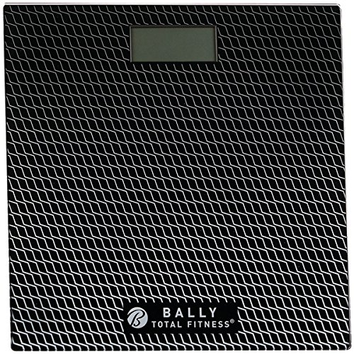 Bally Total Fitness BLS-7302 BLK Digital Bathroom Scale (Black),, Black