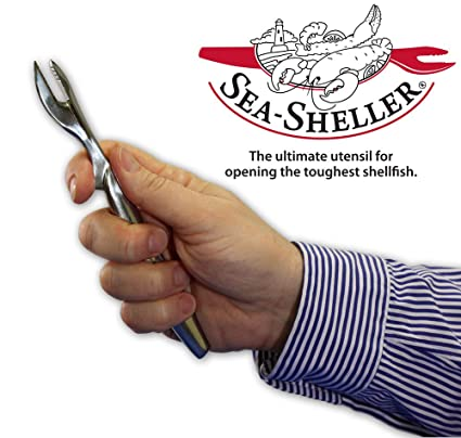 Amazoncom 24pc Stainless Steel Sea Sheller Food Service Pack For