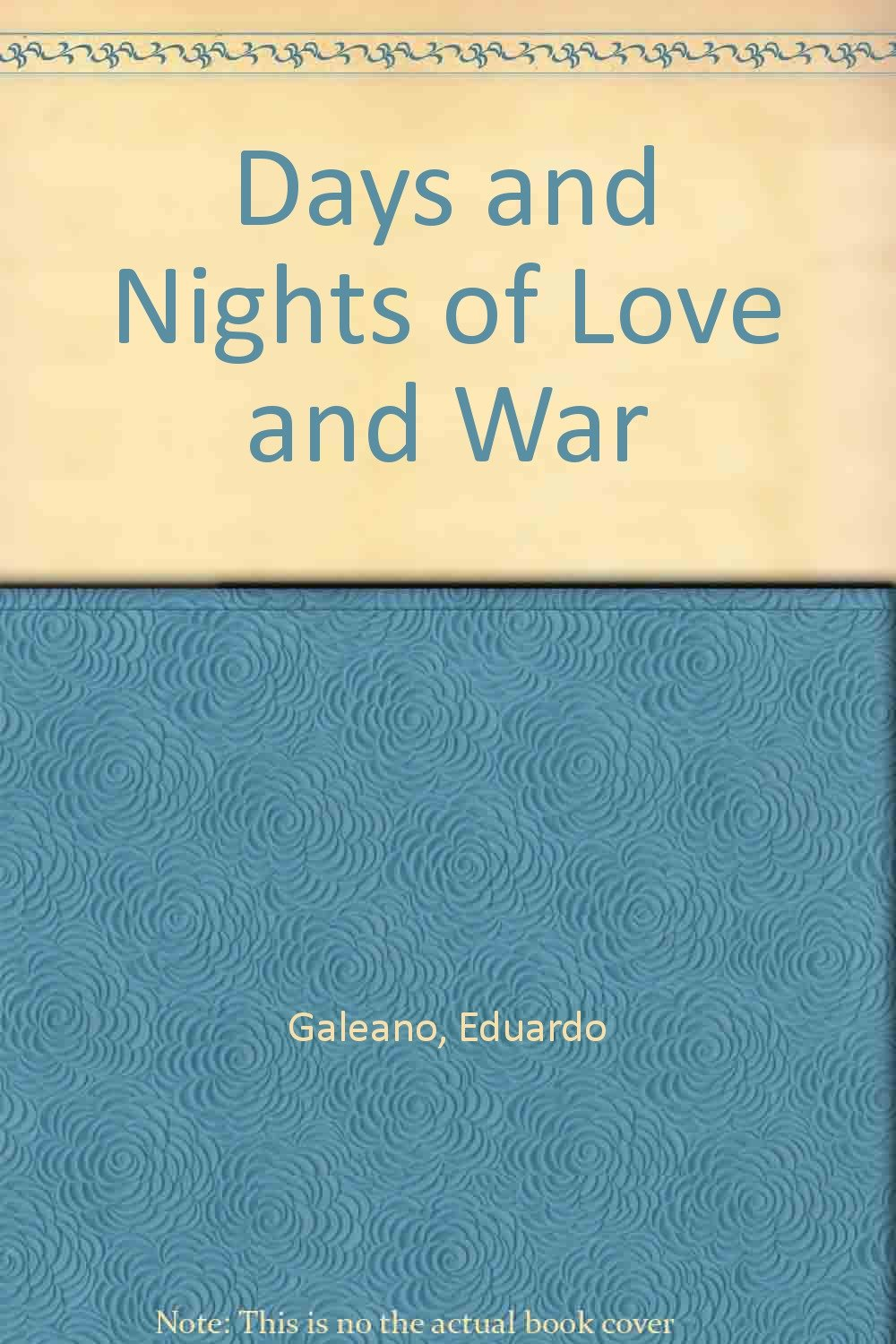 Read Online Days and Nights of Love and War ebook