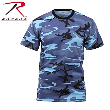 Amazon.com  Rothco T-Shirt Sky Blue Camo  Sports   Outdoors 2de17f2c98b
