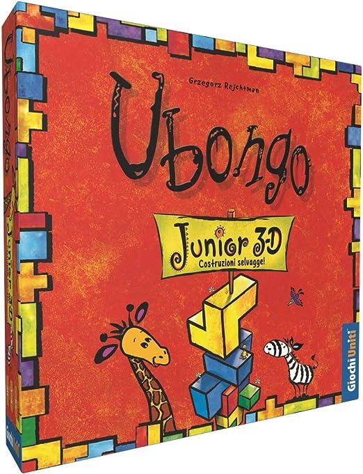 Juegos Uniti-UBONGO: 3D Junior Un Grado clásico del Juego German, Hora para los más pequeños, Multicolor, 1: Amazon.es: Juguetes y juegos