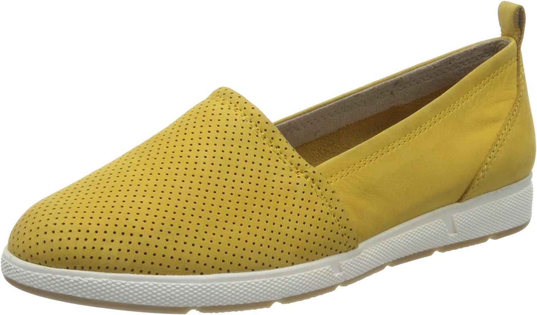 Marco Tozzi Women's 2-2-24611-24 Limited time sale Loafer Yellow 627 Saffron 9.5 Cheap sale