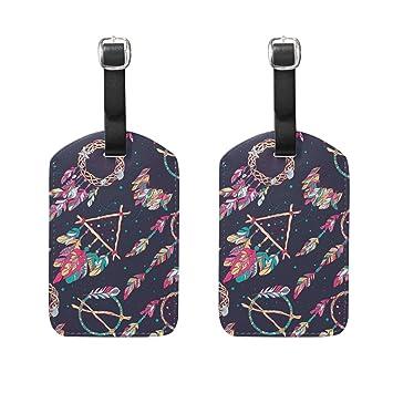 Amazon.com: Anmarco - Bolsas de etiquetas para maletas de ...