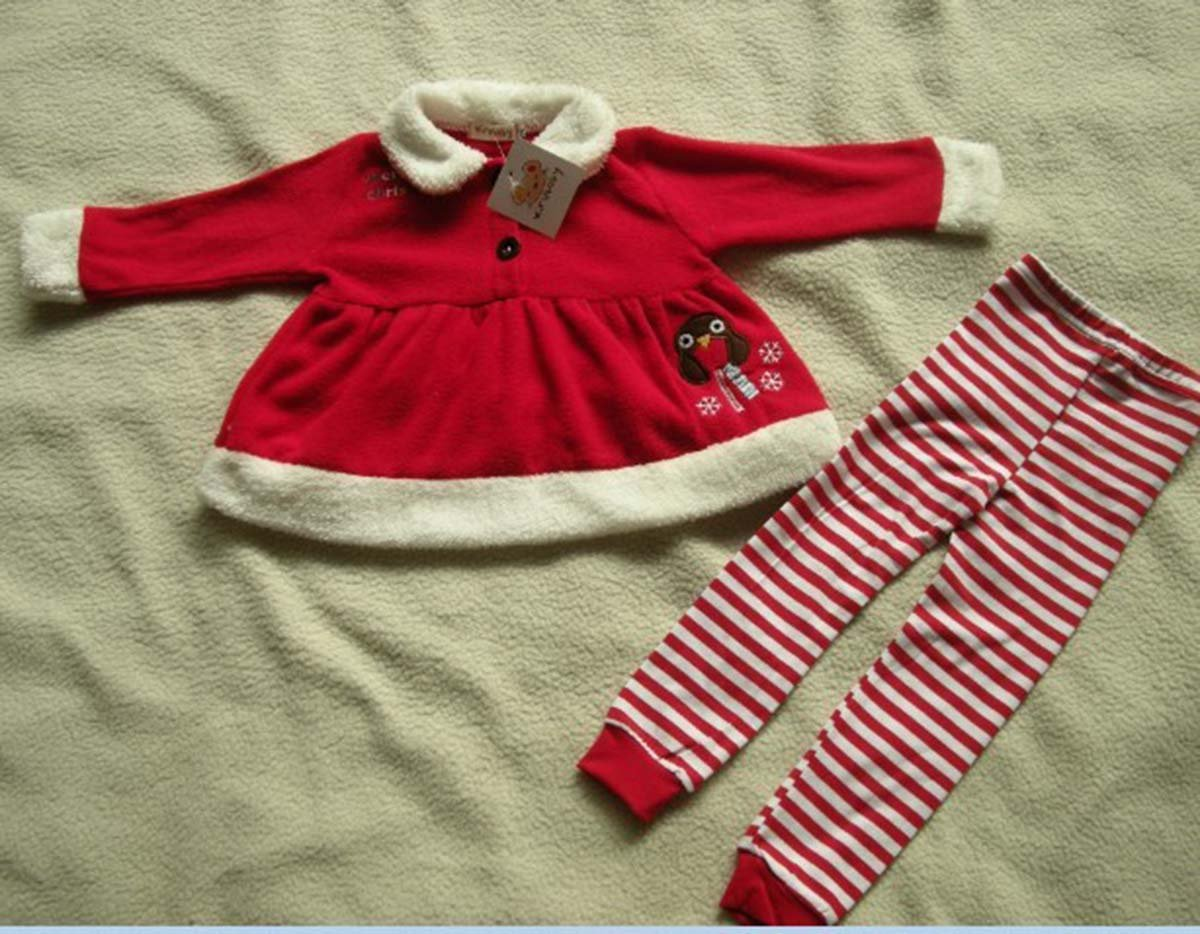 8962a8e39 Happy Cherry - Traje de Camiseta y Pantalones para Fiesta Navidad Nuevo  Años con Sombreros de