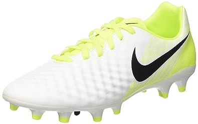 new style 7e647 945c5 Nike Herren Magista Onda Ii Fg Fußballschuhe, Weiß (White/black-vert Volt