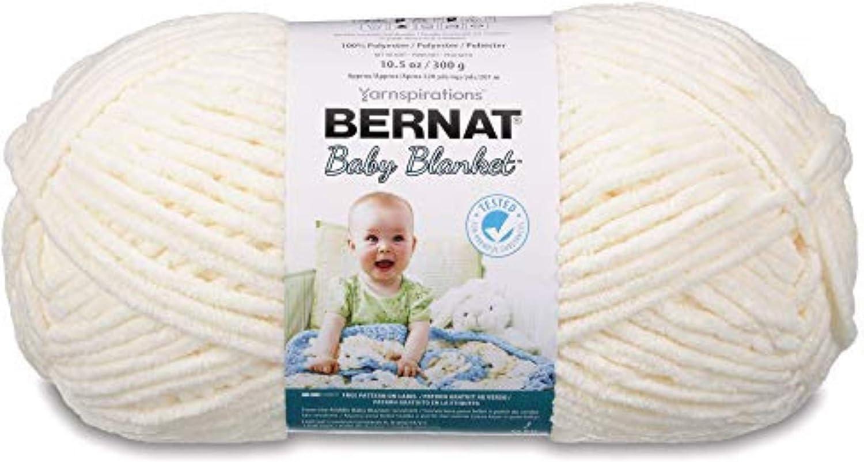 Bernat Baby Blanket Big Ball – Best yarn for allergic and sensitive skin