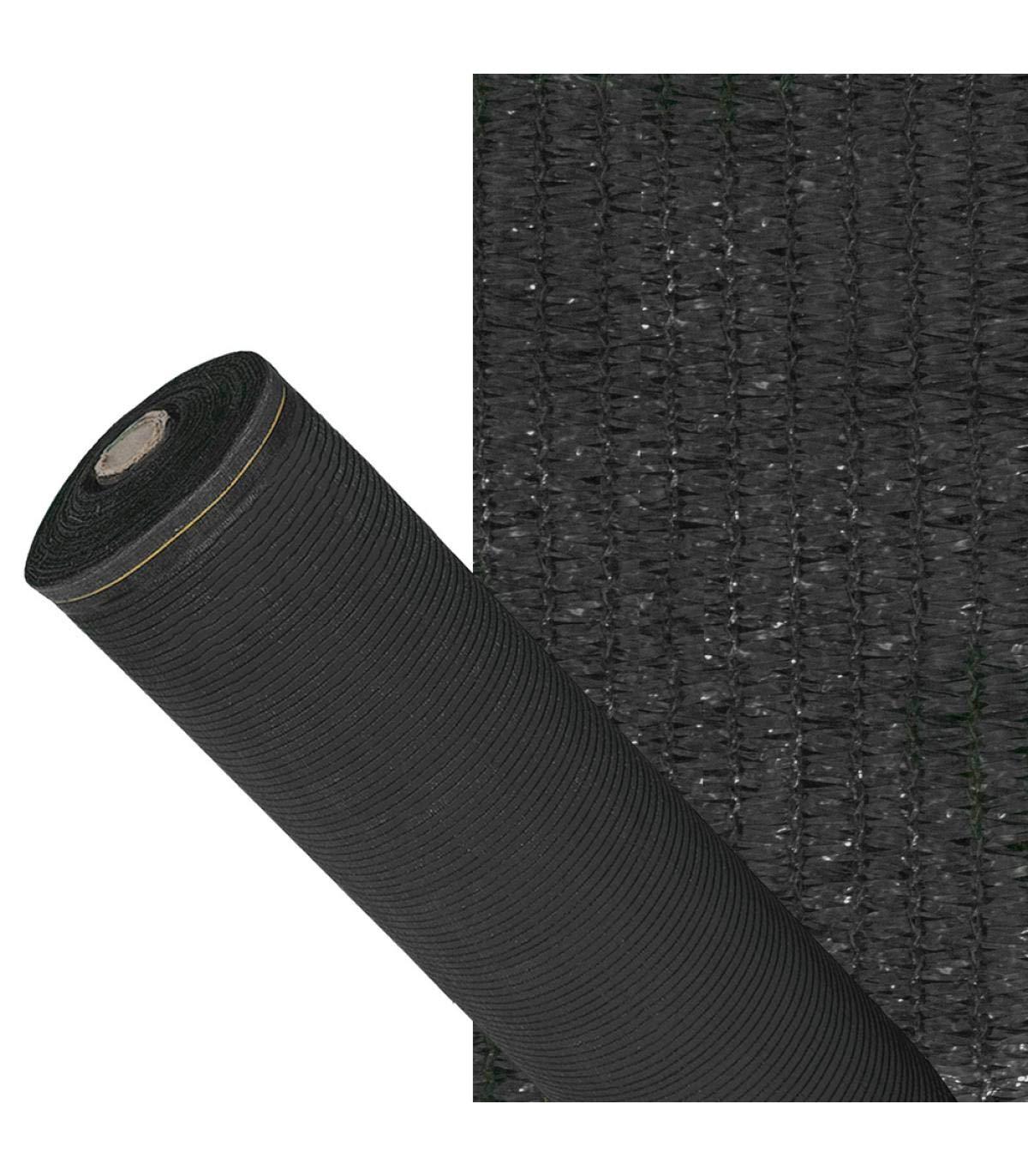 Protecci/ón Jard/ín y Terraza Rollo 3 x 100 metros Color Verde Oscuro Reduce Radiaci/ón Regula Temperatura Malla Sombreo 90/%