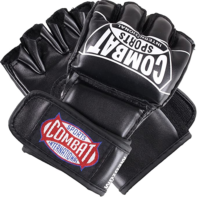 MMA Gloves Gel Body Combat Boxing Punch Bag Training Mitts Martial Arts Boom Pro