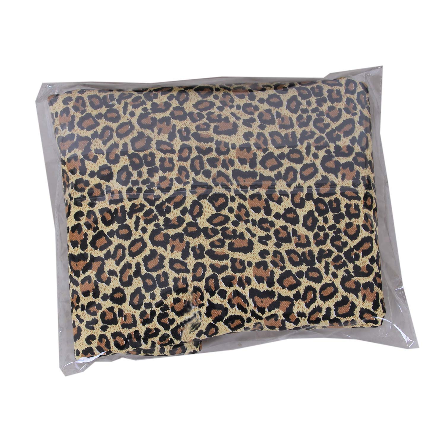 Childrens Plush Soft Toy Storage Bag Bean Bag Large Perfect Storage Solution Chair Easy Clear Leopard Print,18In