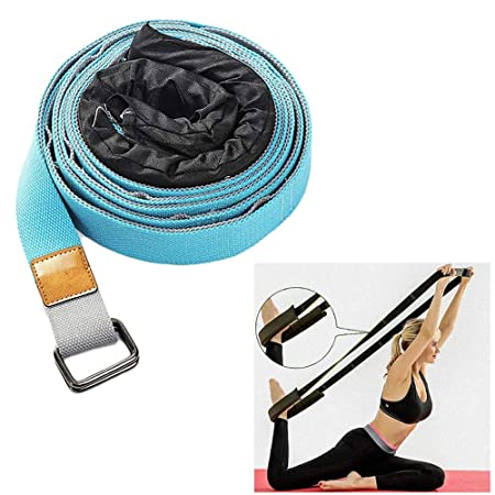 OhLt-j Correa de yoga for estirar: correa de estiramiento ...