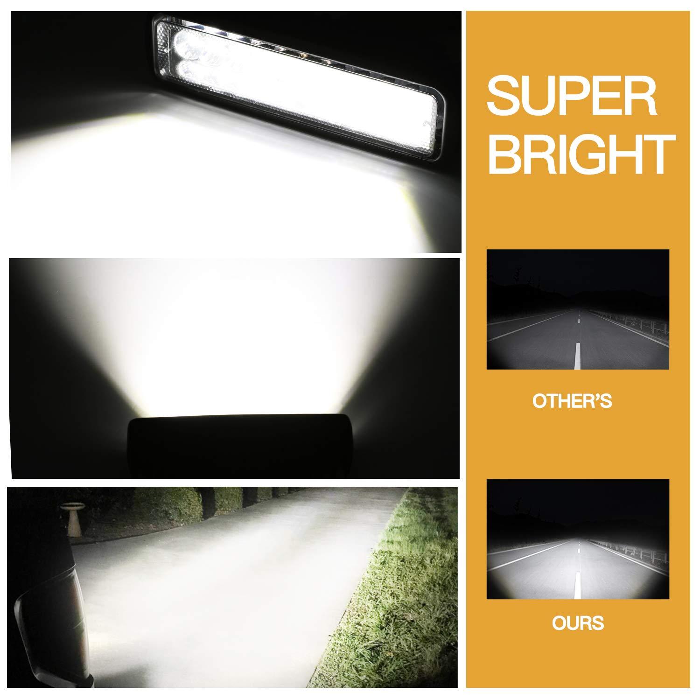 DJI 4X4 548W Quad Row LED Driving Light Spot Flood Combo Beam CREE Work Light Off Road LED Fog Light for Trucks Jeep ATV UTV Wrangler SUV Ford Boat Pickup 30 Inch LED Light Bar 2 Years Warranty 4350385777