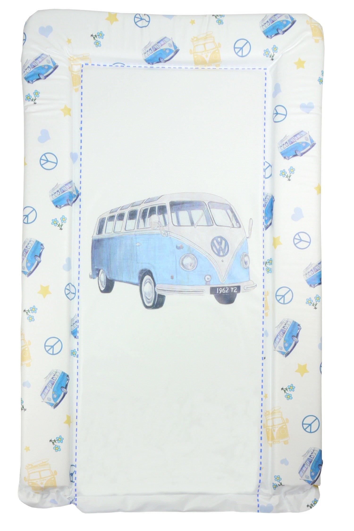 Blue VW Camper Van Baby Changing Mat - Blue Camper by Babywise