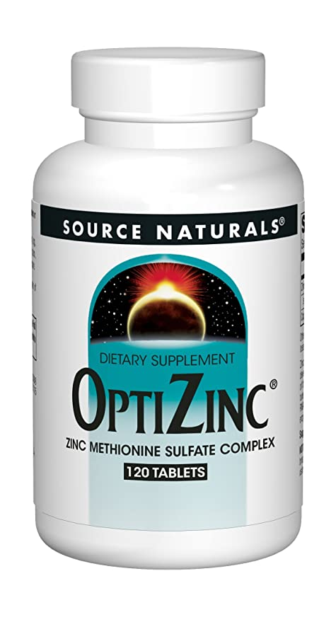 Source Naturals OptiZinc, 120 Tablets