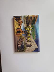 Yuma Arizona City State Souvenir Magnet for Refrigerator, Fridge - Great Gift Idea