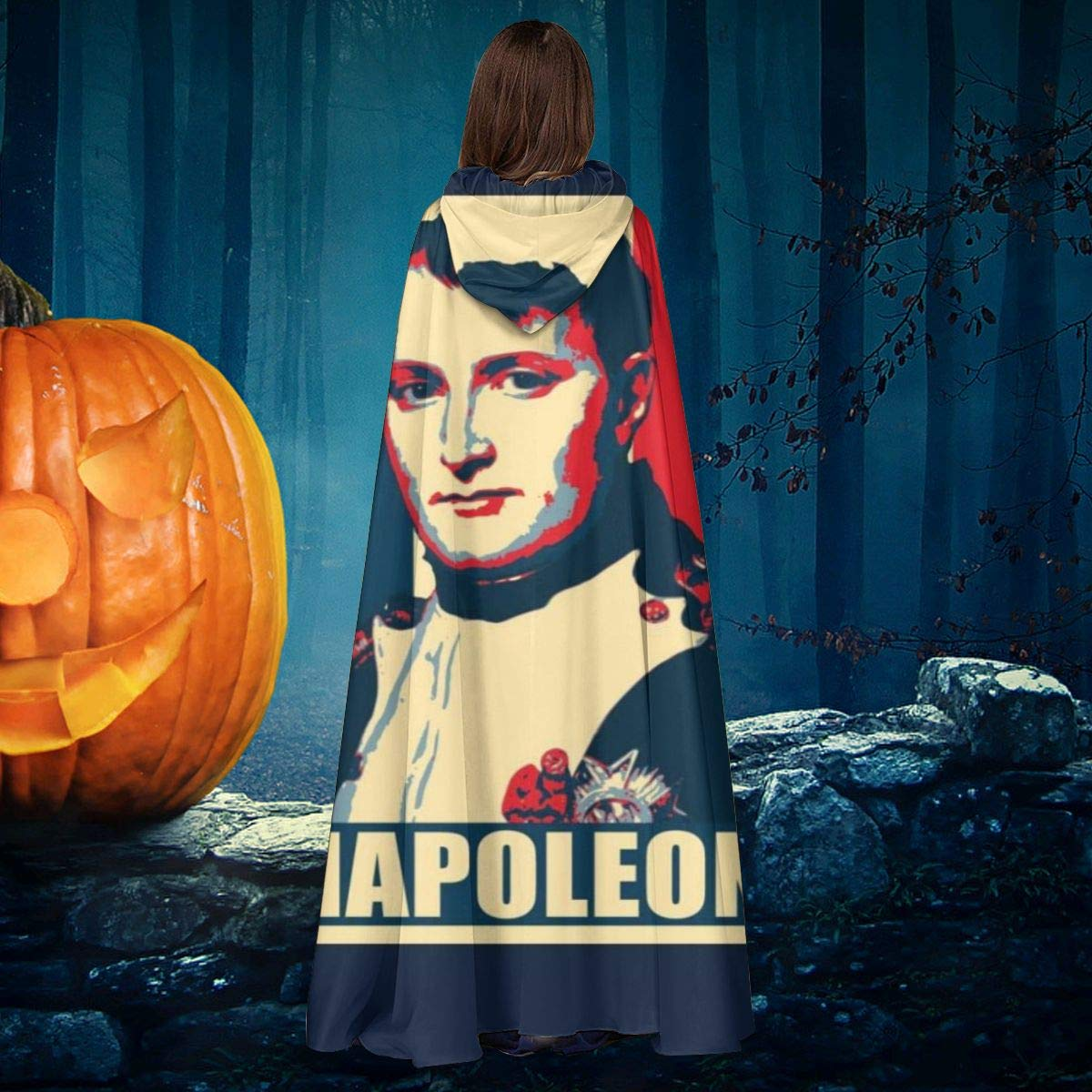 OJIPASD Napoleón Propaganda Póster Pop Art Unisex Navidad ...