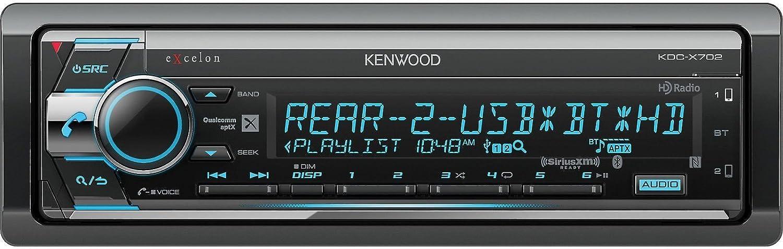 KENWOOD EXCELON KDC-X998 CD USB BLUETOOTH 13 BAND EQUALIZER 5 VOLT HD CAR STEREO