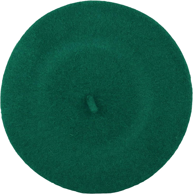 Trifolium Ladies Winter Autumn Classic Fashion Beret Wool French Style Hat