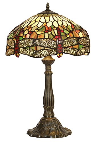 Dragonfly tiffany table lamp amazon lighting dragonfly tiffany table lamp aloadofball Gallery