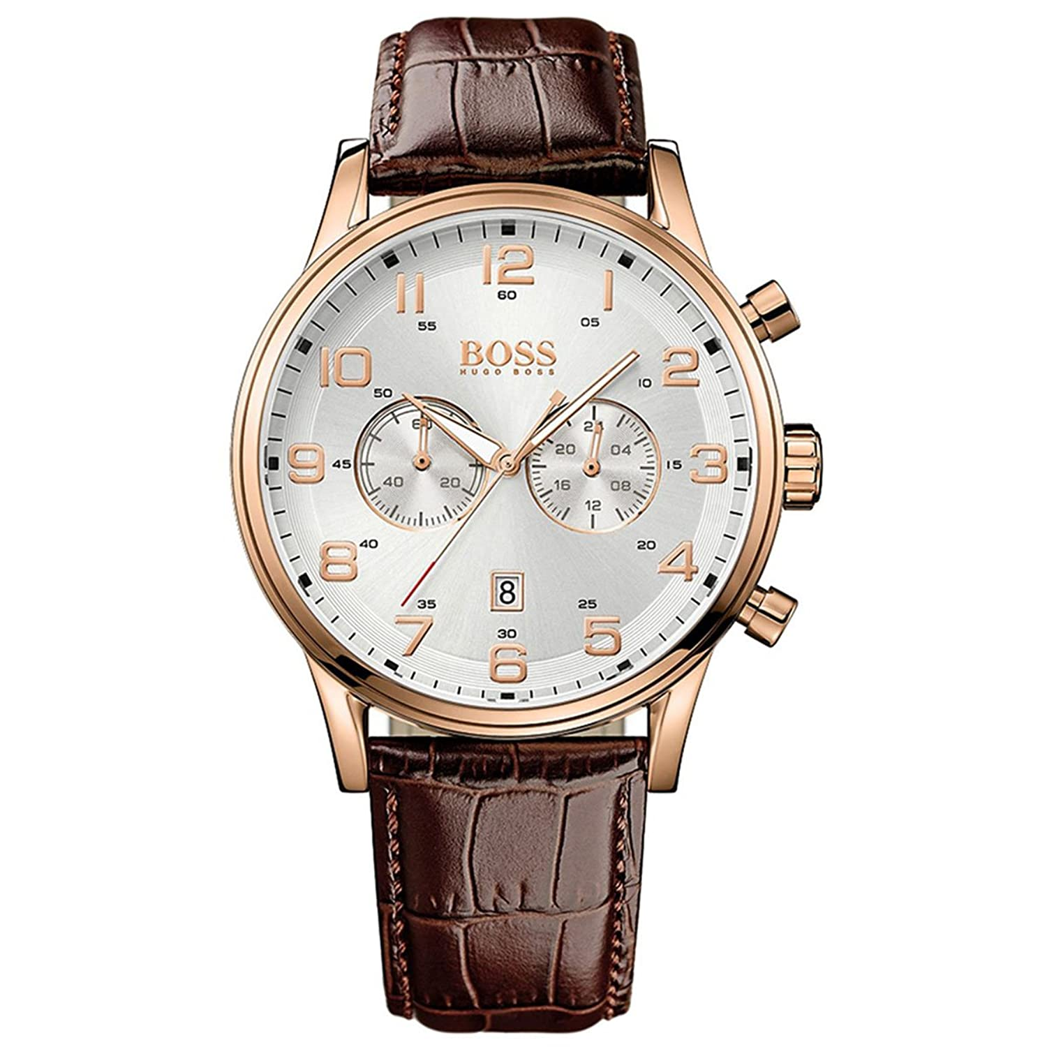 Hugo Boss Netz Me Up Men's Chronograph Analog Casual Quarz: Batterie Reloj 1512921