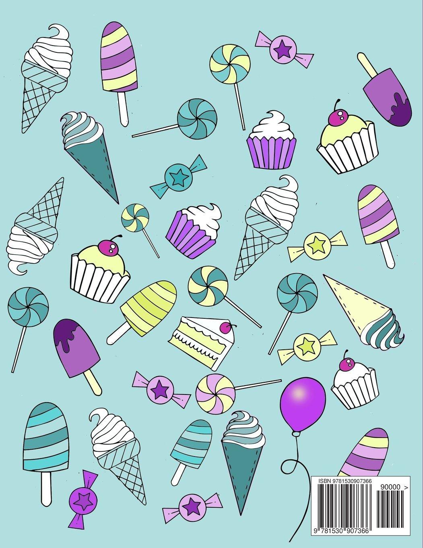 Amazon Sweet Sweary Coloring Book For Adults 30 Delicous Swears 9781530907366 Edwina Mc Namee Books